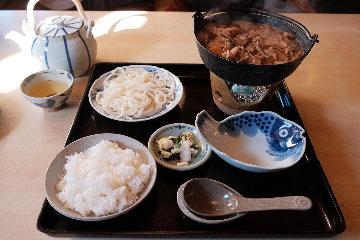 しし鍋定食